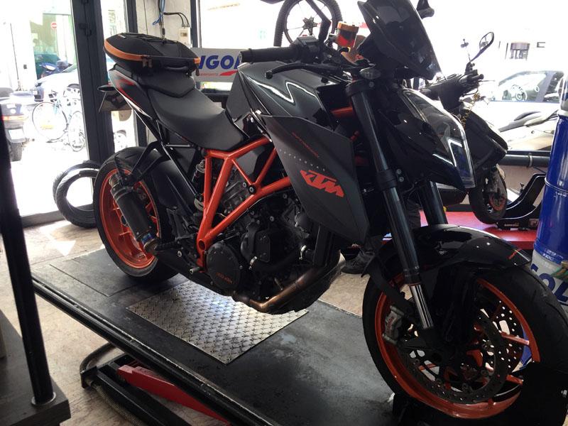 Illustration Service Atelier Djack Motorcycles - Réparations motos, scooters